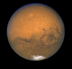 Marsas 2003 m. pro Hablo kosm. telesk. | NASA nuotr.