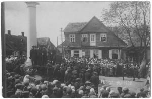 Plungė iki didžiojo miesto gaisro 1931 m. 1929.V.15
