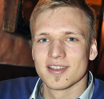 Politikos mokslų studentas Vytautas Keršanskas. Stanislovo Kairio nuotrauka