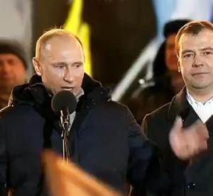 Putinas kalba su ašaromis akyse po prezidento rinkimų 2012 m. | youtube.com stopkadras