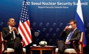 """B.Obama ir D.Medvedevas   """"Reuters"""""""