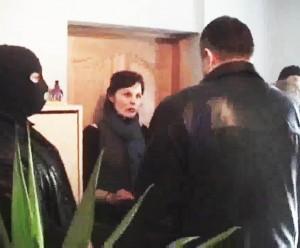 2012 03 23, Garliava. Grasinama Vaiko teisių apsaugos darbuotojai