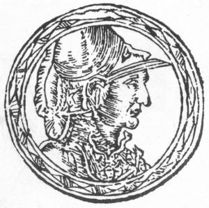 Traidenis. Iš Aleksandro Gvagninio ''Europos Sarmatijos aprašymo'' (Sarmatiae Europeae desscriprio)