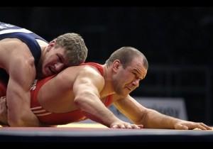 M.Ežerskis (raudona apranga) kovoja finale. D.Vojinovic nuotr.