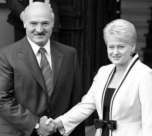 A.Lukašenka ir D.Grybauskaitė   efoto.lt tomito nuotr.