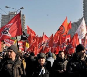 Mitingas Maskvoje, 2012 03 10 | newsru.com nuotr.