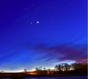 Veneros ir Jupiterio susitikimas