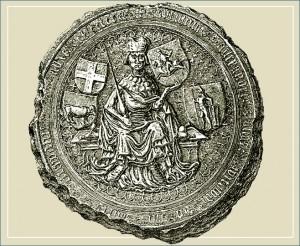 Vytauto Didžiojo majestotinis antspaudas. 1407-1430
