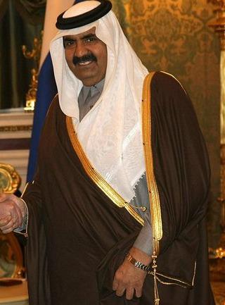 "Kataro šeichas Hamad Bin Khalifa Al Thani | ""Wikipedia"""