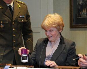 Lietuvos gyventojų genocido ir rezistencijos tyrimo centro generalinė direktorė Teresė Birutė Burauskaitė   KAM nuotr.