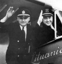 Steponas Darius ir Stasys Girėnas (Lituanica) 1933 | Vikipedijos nuotr.