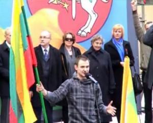 Kalba Ainis Storpirštis, 2014-04-14 | Alkas.lt nuotr.