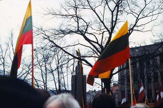 Mitingas Kaune 1989 02 16 | efoto.lt Remigijaus nuotr.