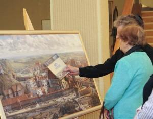 Pilių paveikslų paroda   lrs.lt nuotr.