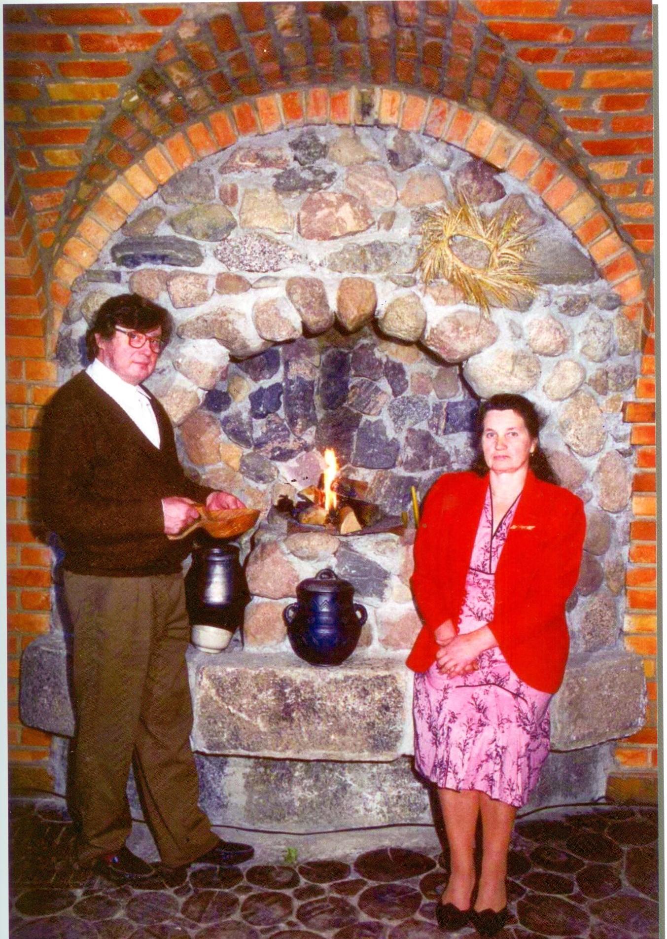 Adolfas Gedvilas su žmona Magdute Gedviliene