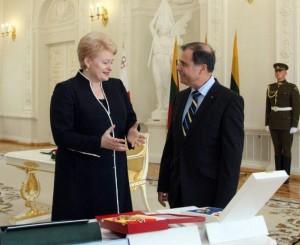 D.Grybauskaitė ir Dž. Abela | lrp.lt nuotr.