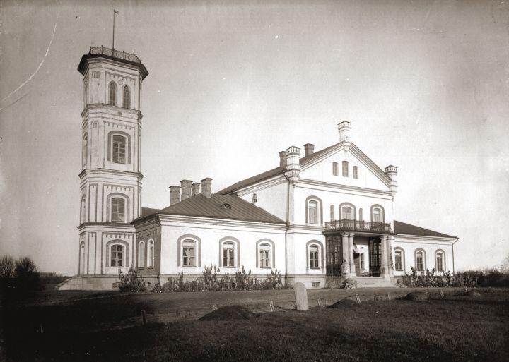 Alantos dvaras seniau | Nuotr. iš Molėtų krašto muziejauas archyvo