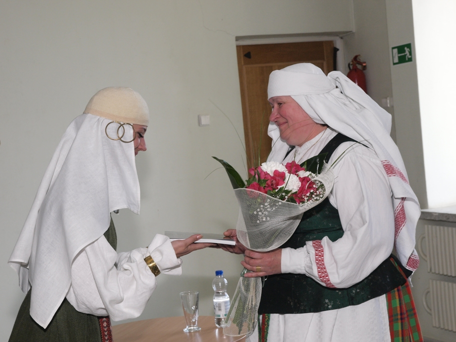 Pagerbiama šventės sumanytoja Alma Pustovaitienė