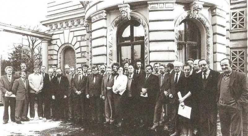 Baltijos Asamblėjos dalyviai, 1990 m.