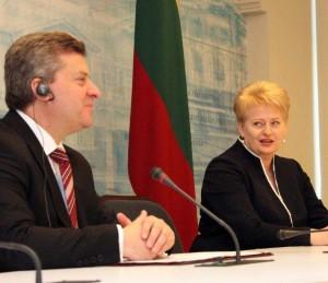 G.Ivanovas ir D.Grybauskaitė | lrp.lt nuotr.