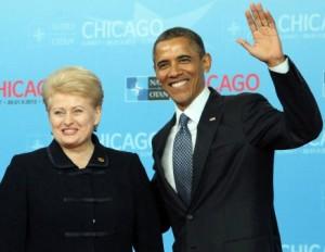 Dalia Grybauskaitė  ir Barakas Obama | lrp.lt nuotr.