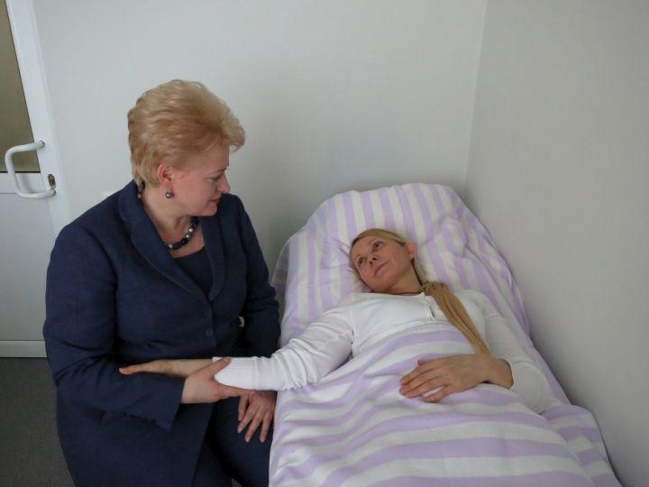 D.Grybauskaitė ir J.Tymošenko | lrp.lt, Dž.Barysaitės nuotr.