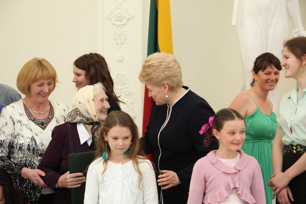 Apdovanojimai | Prezidentės spaudos tarnybos nuotr.