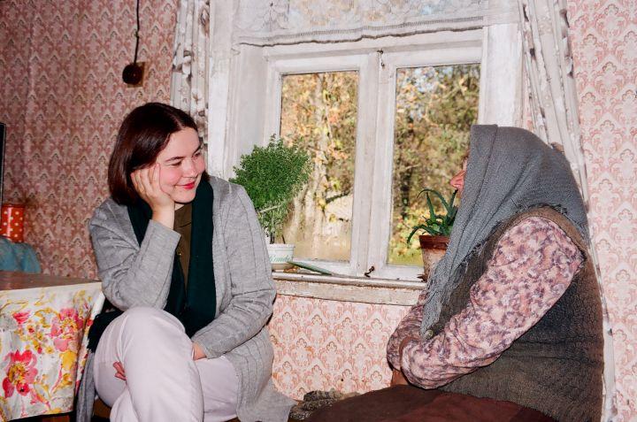 R.Balkutė ir E.Maciulevičienė iš Žydavainių