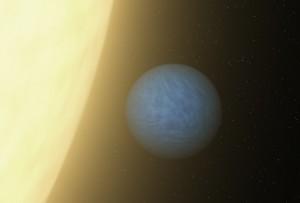 Planeta 55 Cancri e. NASA pieš.