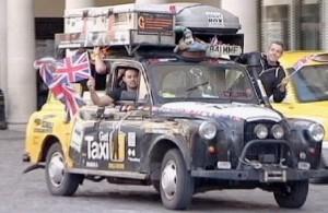 Aplink pasaulį su taksi | stop kadras
