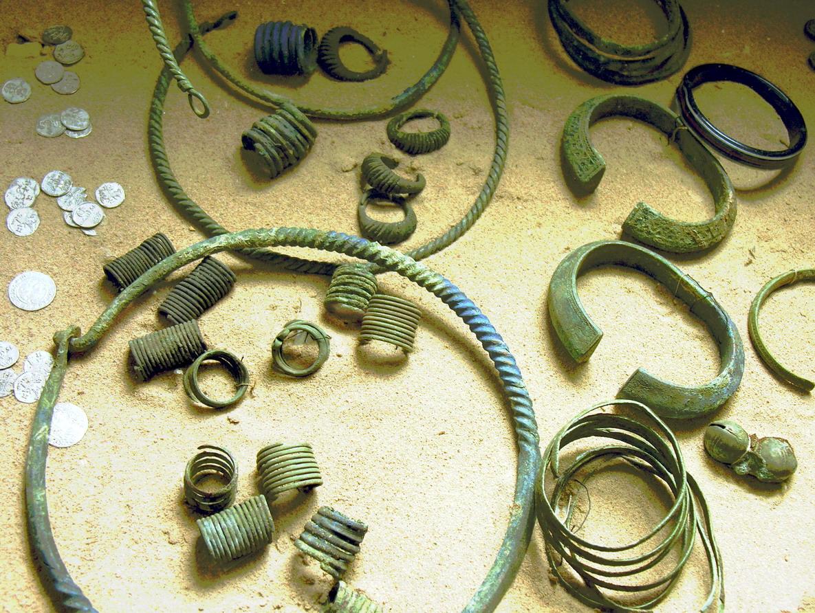 Archeologiniai radiniai | lt.wikipedija.org nuotr.