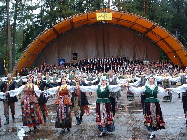 Kulautuva. Dainų šventė | nuotr. krnaujienos.lt