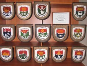 Lietuvos regioninių parkų emblemos