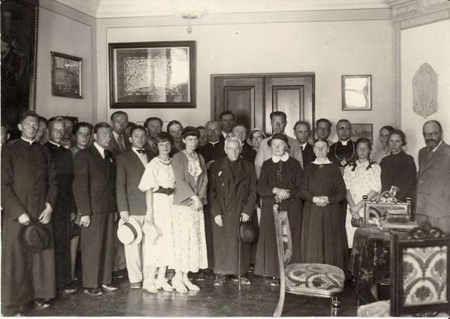 Maironio muziejaus atidarymo iškilmės
