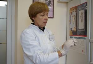 Skiepų kabineto gydytoja Jolanta Dieninienė