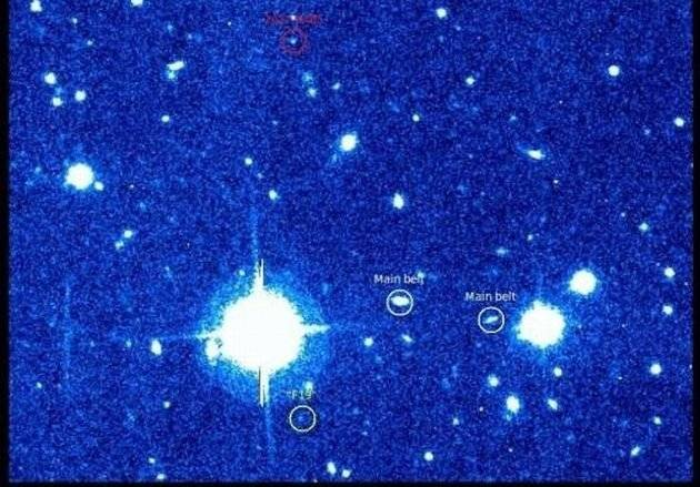 Neseniai atrastas asteroidas 2012 BX85. R. Boyle ir V. Laugalio nuotr.