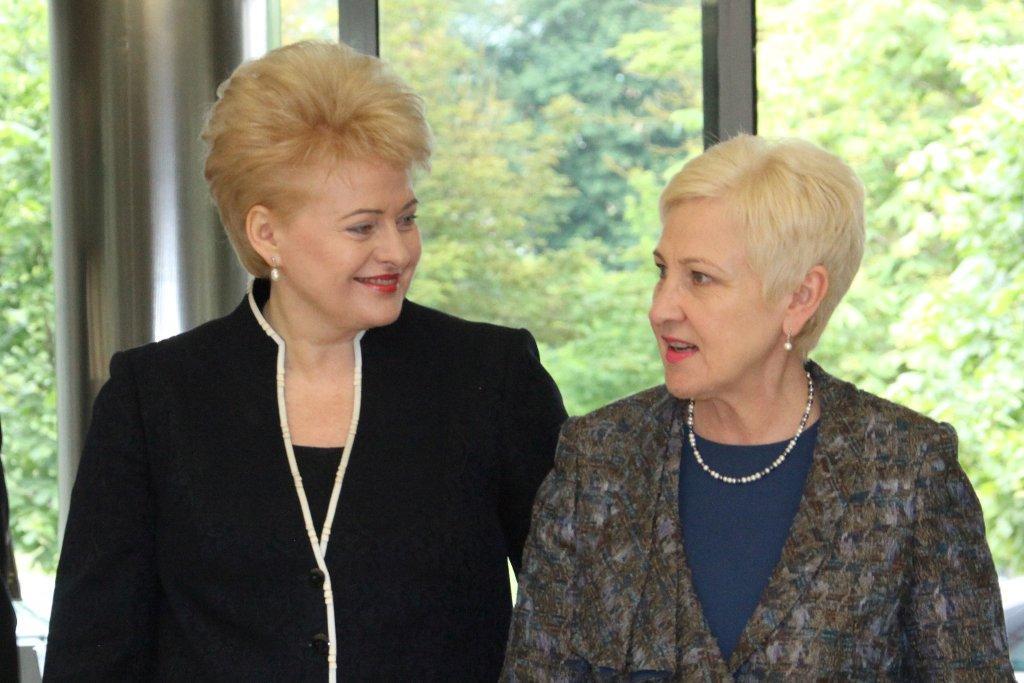 D.Grybauskaitė ir I.Degutienė | lrp.lt nuotr.