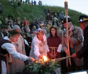 Rasos šventė Kernavėje, 2012 m. | V.Kašinsko nuotr.
