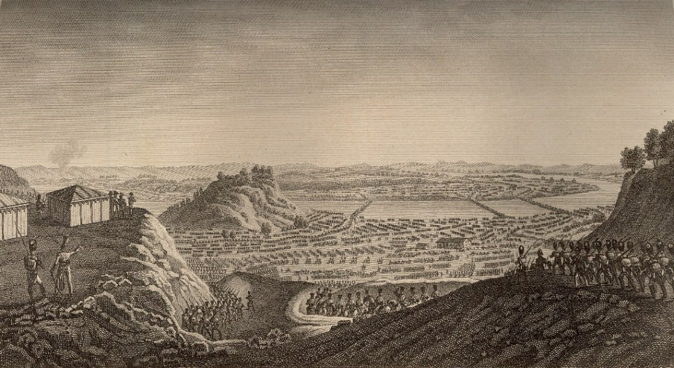 Prancūzijos kariuomenės persikėlimas ties Kaunu 1812 m. birželio 24 d.