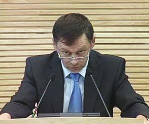 V.Stundys pristato įstatymo projektą