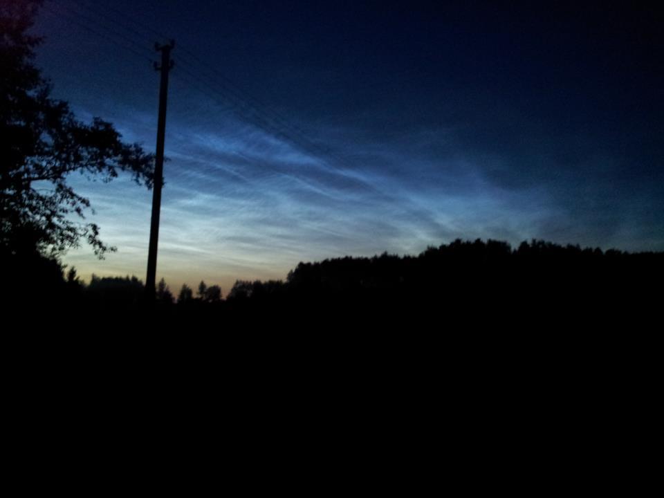 Sidabriškieji debesys. A.Rasakevičiaus nuotr.