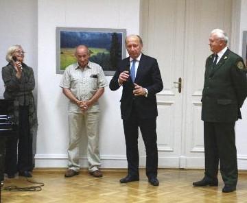 J.Danausko parodos atidarymas Varšuvoje | pl.mfa.lt nuotr.