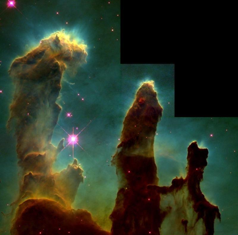 Kūrybos stulpai | NASA nuotr.