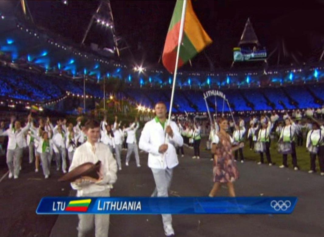 Lietuvos olimpinė delegacija | tiesioginės transliacijos stop kadras