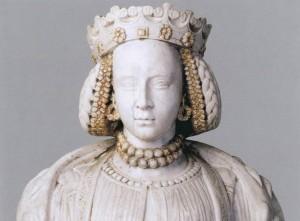 Barboros Radvilaitės biustas (?). Nežinomas skulptorius, XVI a.