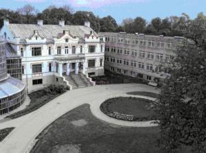 Kretingos dvaro  rūmai su sovietiniu priestatu | KPD nuotr.