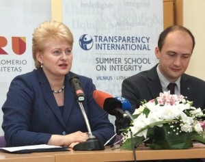 Kalba Prezidentė Dalia Grybauskaitė   lrp.lt nuotr.