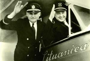 Steponas Darius ir Stasys Girėnas. 1933 m.