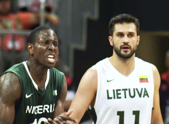 Lietuva – Nigerija | Tiesioginės transliacijos stop kadras