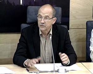 Apskritojo stalo pirmininkas R.Ozolas